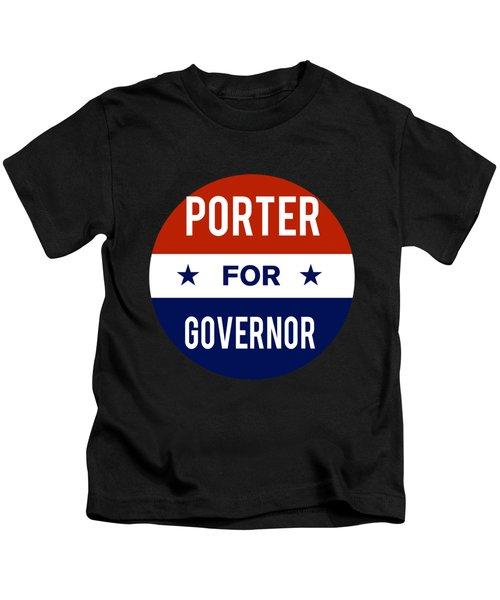 Porter For Governor 2018 Kids T-Shirt