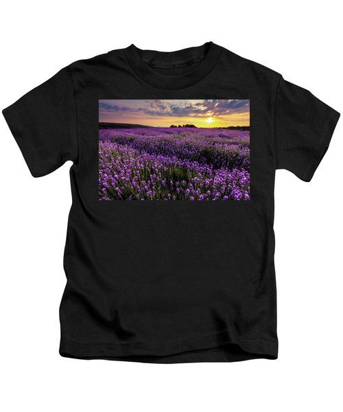 Purple Sea Kids T-Shirt