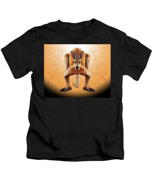 R Is For Red Knagaroo Kids T-Shirt
