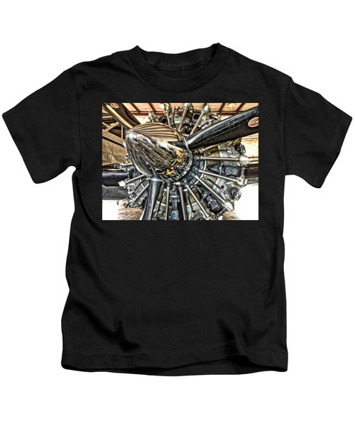 Radial Kids T-Shirt
