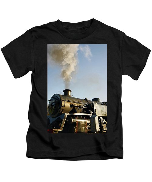 Ramsbottom. East Lancashire Railway. Locomotive 80080. Kids T-Shirt