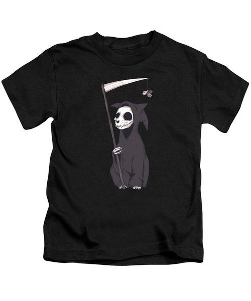 Reaper Cat Kids T-Shirt