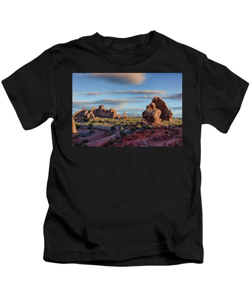 Red Rock Formations Arches National Park  Kids T-Shirt