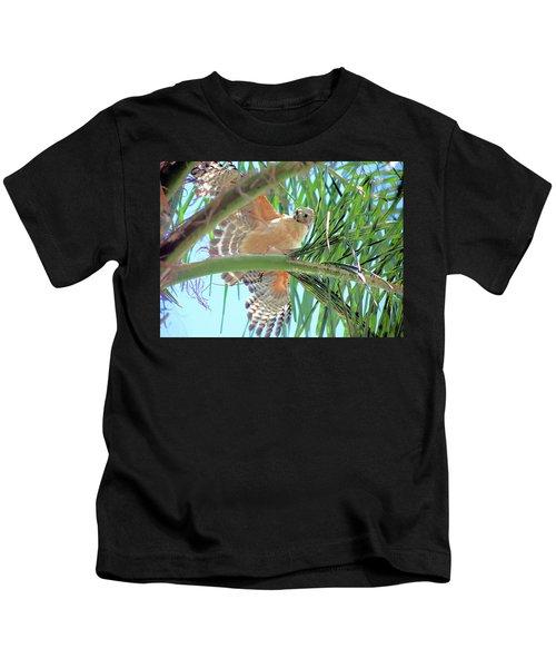 Red-shoulder Hawk Kids T-Shirt