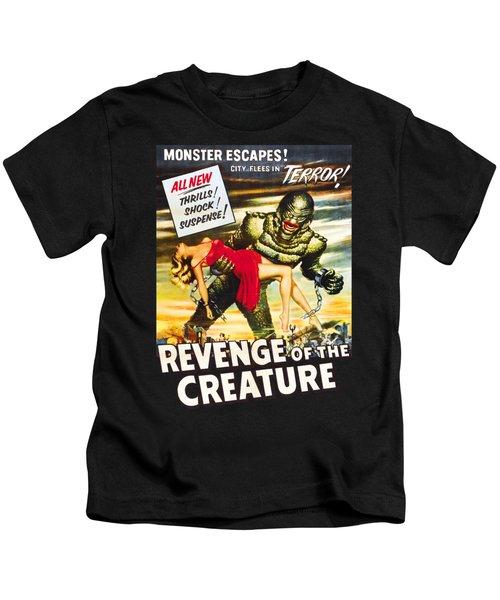 Revenge Of The Creature Movi Poster Kids T-Shirt