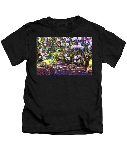 Rhododendron Garden Kids T-Shirt