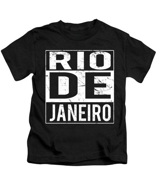 Rio De Janeiro Brazil Kids T-Shirt