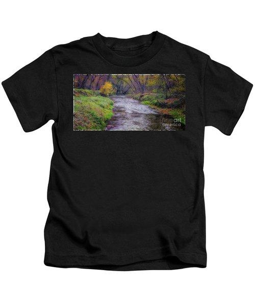 River Running Through Kids T-Shirt