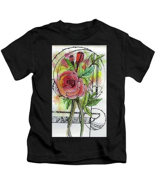 Rose Is Rose Kids T-Shirt
