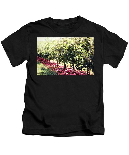 Row Of Red Kids T-Shirt