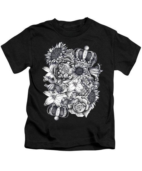 Royal Flowers Kids T-Shirt
