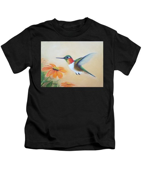 Rufous In Marigolds  Kids T-Shirt