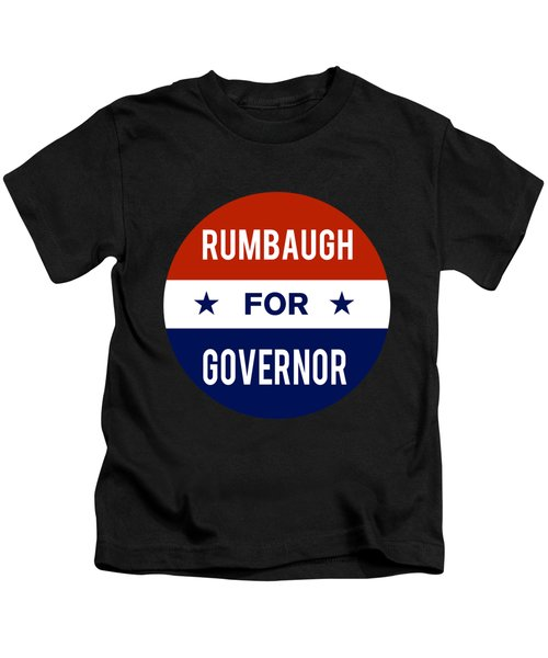 Rumbaugh For Governor 2018 Kids T-Shirt