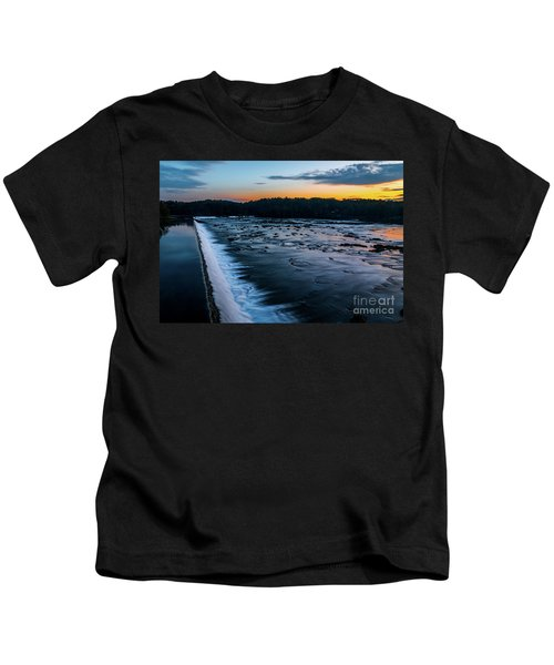 Savannah Rapids Sunrise - Augusta Ga Kids T-Shirt