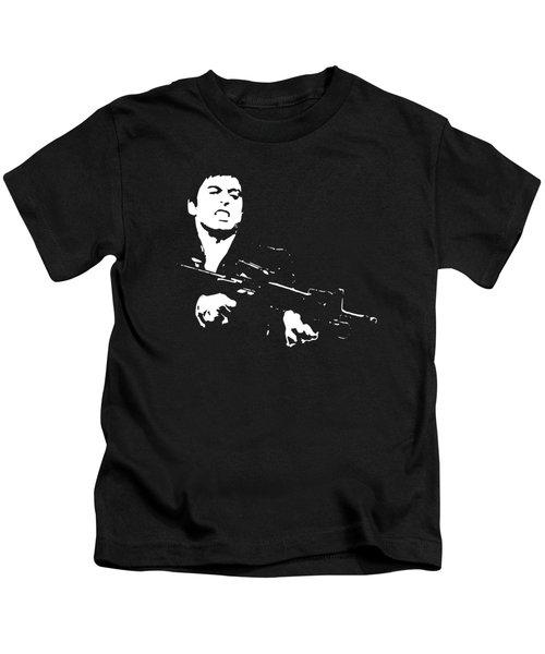 Scarface Minimalistic Pop Art Kids T-Shirt