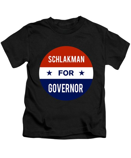 Schlakman For Governor 2018 Kids T-Shirt