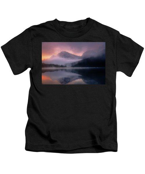 September Sunrise Banff Kids T-Shirt