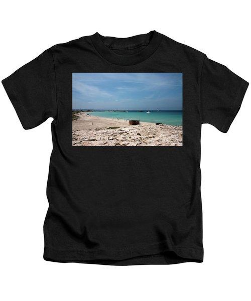 Ses Illetes, Formentera Kids T-Shirt