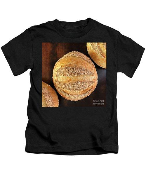 Sesame Seed Stripes 4 Kids T-Shirt