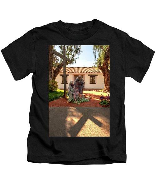 Shadow Of The Cross Kids T-Shirt