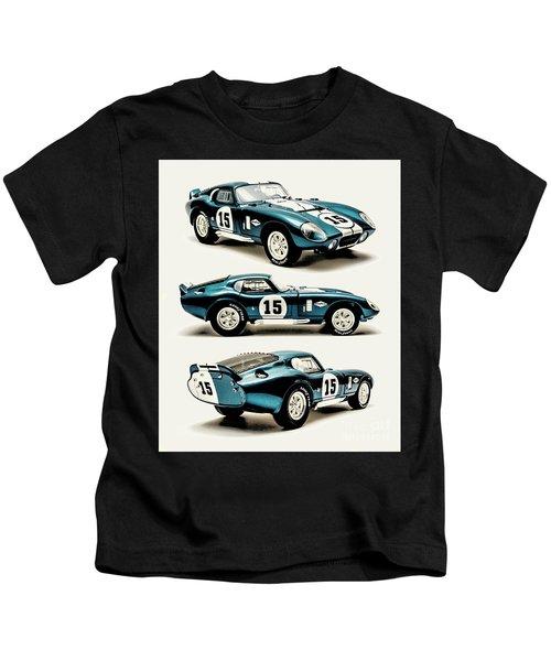 Shelby Cobra Daytona Kids T-Shirt