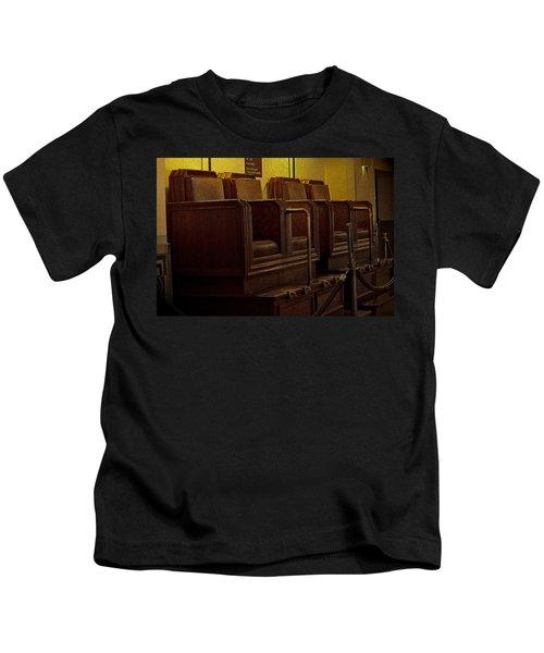 Shoe Shine Station Kids T-Shirt