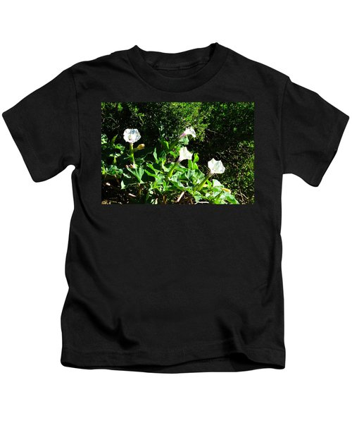 Kids T-Shirt featuring the photograph Sisters In The Sun by Judy Kennedy