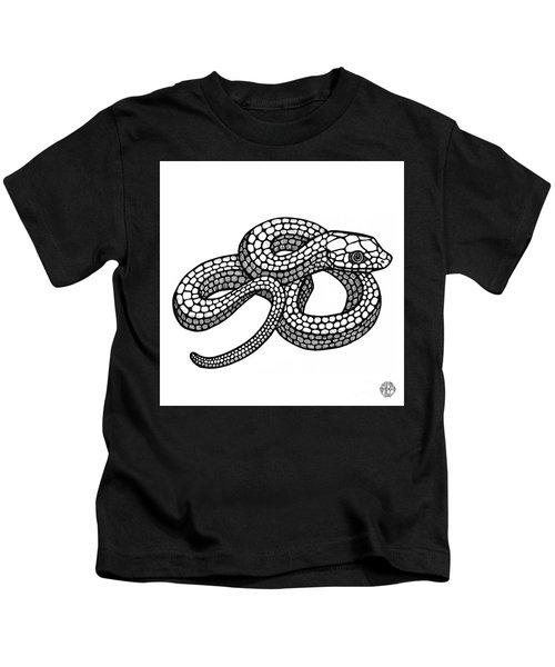 Smooth Green Snake Kids T-Shirt