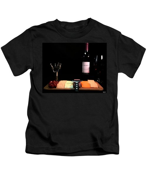 Snacks Are Served  Kids T-Shirt