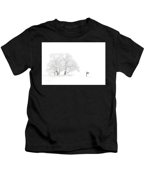 Snow Scene Kids T-Shirt