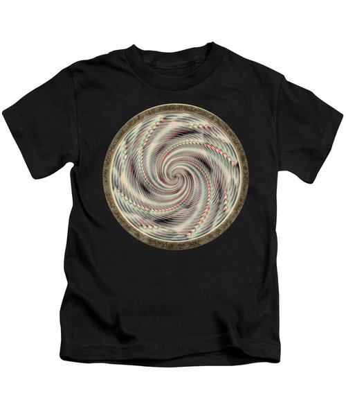 Spinning A Design For Decor And Clothing Kids T-Shirt