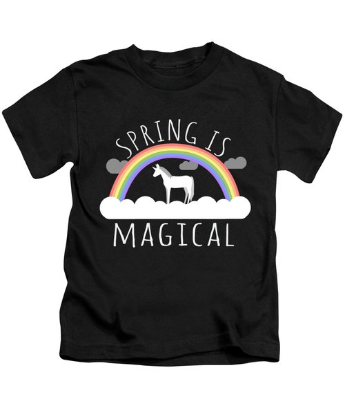 Spring Is Magical Kids T-Shirt