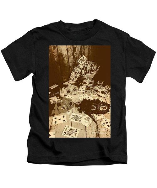 Staged Western Kids T-Shirt