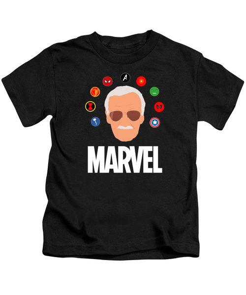 Stan Lee Marvel Kids T-Shirt