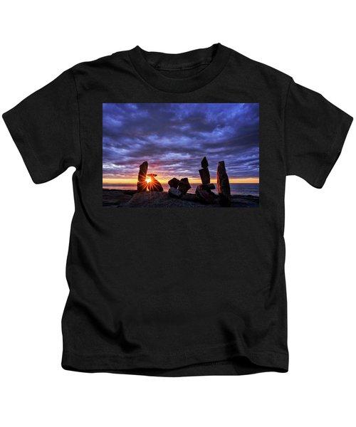 Standing Stone 1 Halibut Pt.  Kids T-Shirt