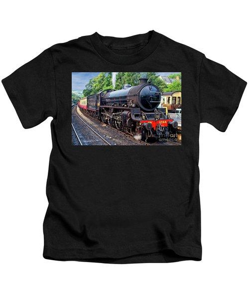 Steam Locomotive 1264 Nymr Kids T-Shirt