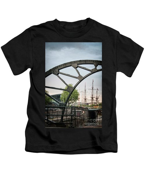 Steel And The Golden Age Kids T-Shirt