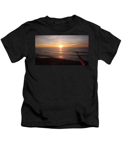 Sunset Blackpool Kids T-Shirt