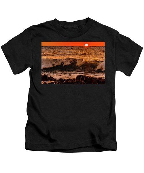Sunset Wave Kids T-Shirt