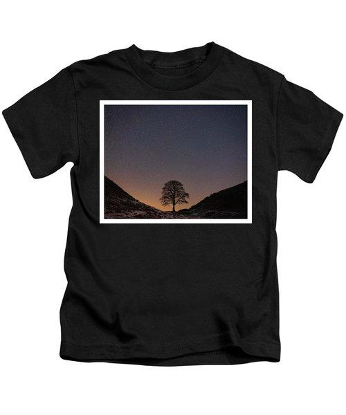 Sycamore Gap  Kids T-Shirt