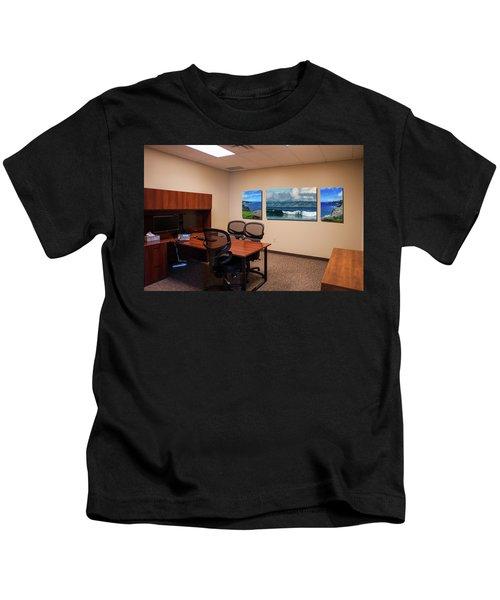 Tamara Office West Wall Kids T-Shirt