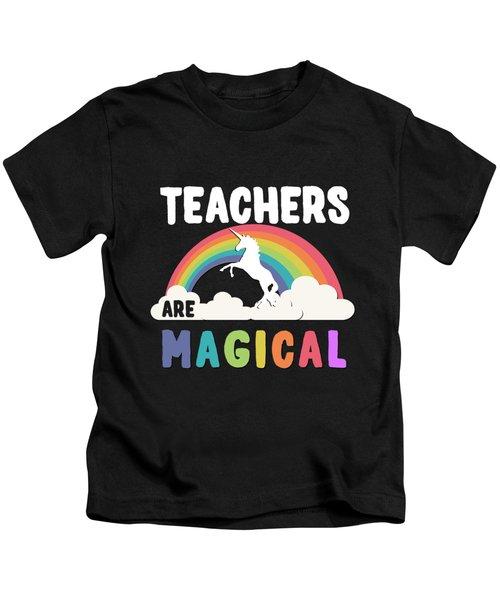 Teachers Are Magical Kids T-Shirt