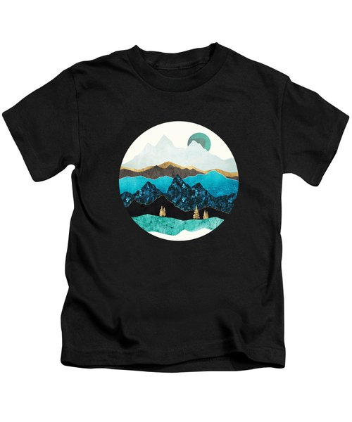 Teal Afternoon Kids T-Shirt