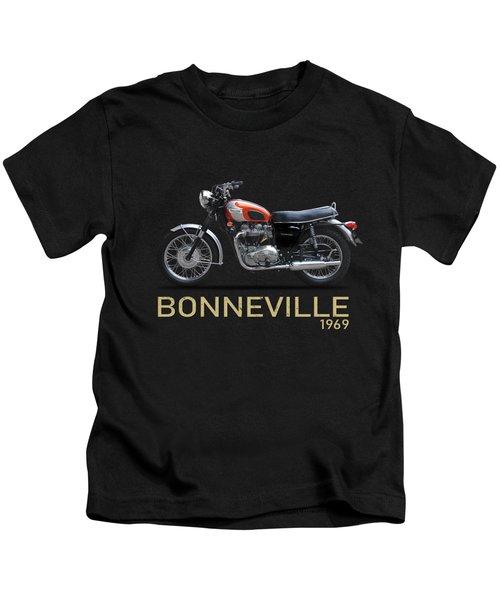 The 1969 Triumph Bonneville Kids T-Shirt