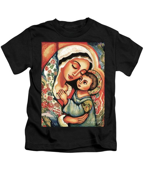 The Blessed Mother Kids T-Shirt