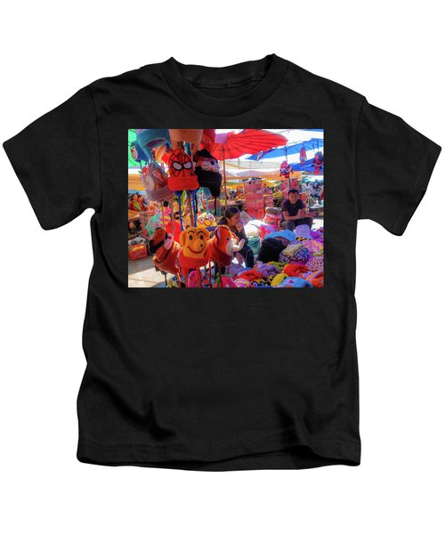 The Colours Of Childhood Kids T-Shirt