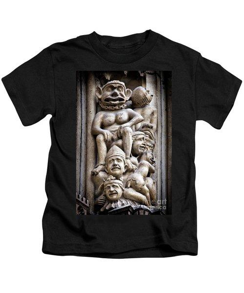 The Damned In Notre Dame De Paris Kids T-Shirt