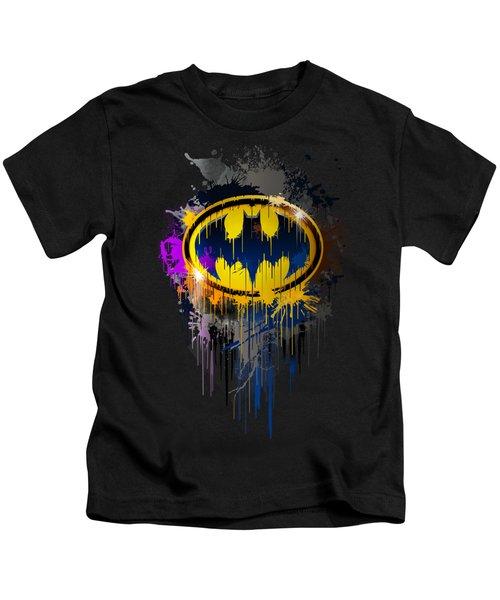 The Dark Knight Of Gotham Kids T-Shirt