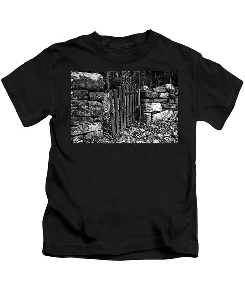 The Garden Entrance Kids T-Shirt