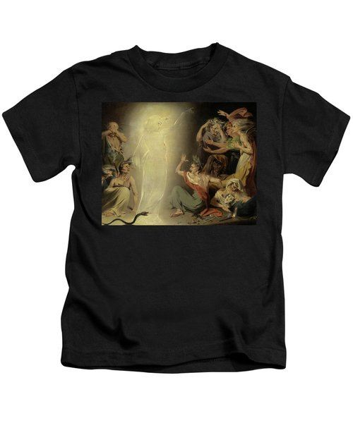 The Ghost Of Clytemnestra Awakening The Furies, 1781 Kids T-Shirt